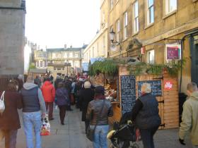 Bath Christmas Market last year.