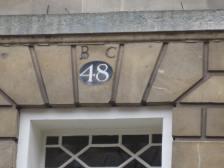 'B.C' in Great Pulteney Street