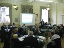 Today's debate at the Guildhall.