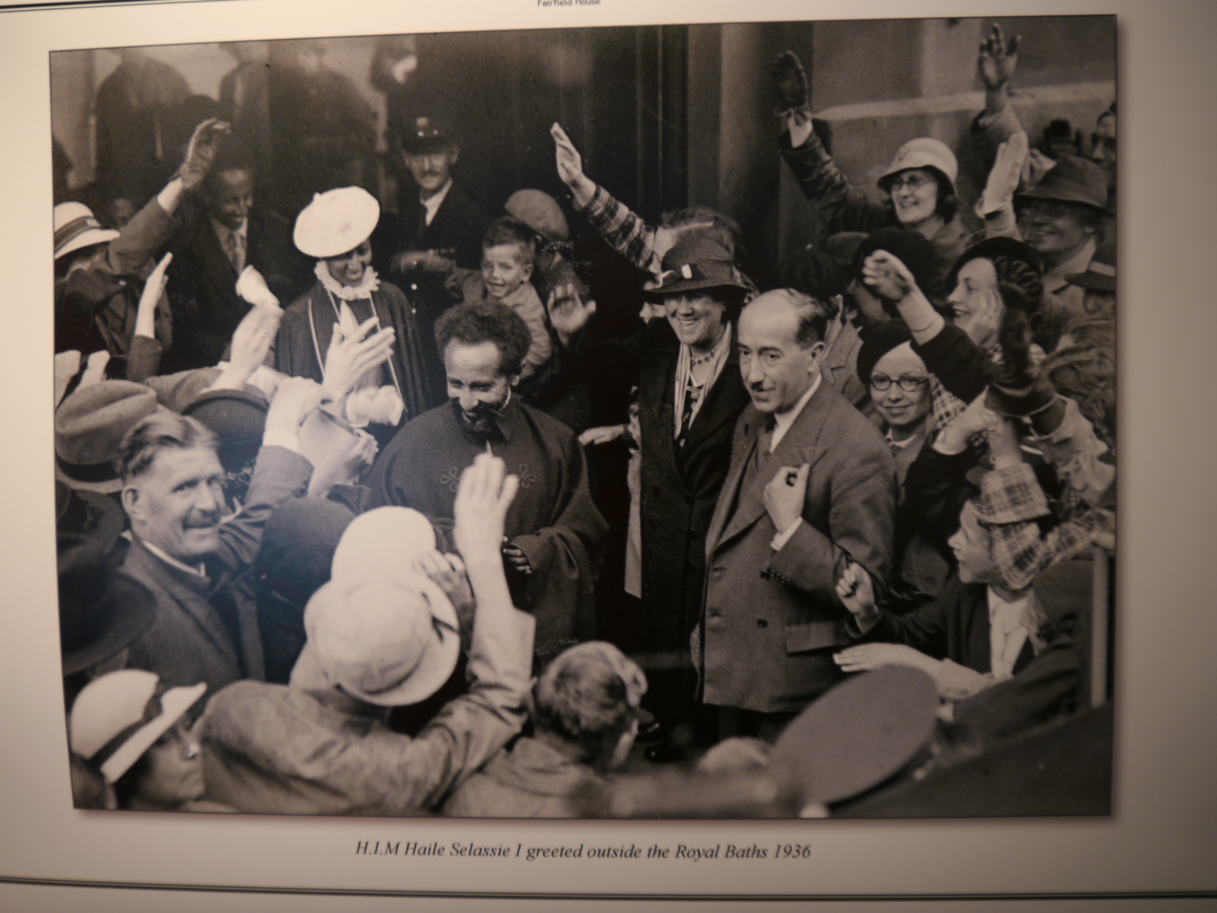 Emperor Haile Selassie Lion Of Judah Haile selassie is greeted