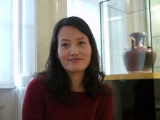 Rachel Yuan - who is  leading the project for The Museum of East Asian Art