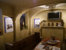 The medieval styled room for educational visits