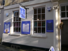 Ora et Labora's shop in Church Street