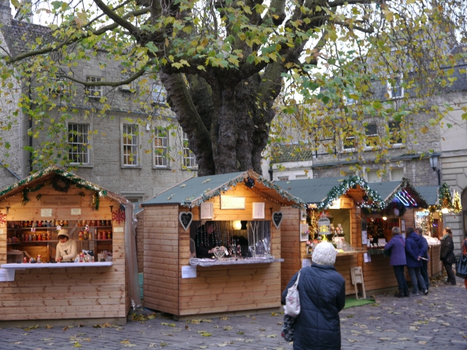 Christmas market opens!