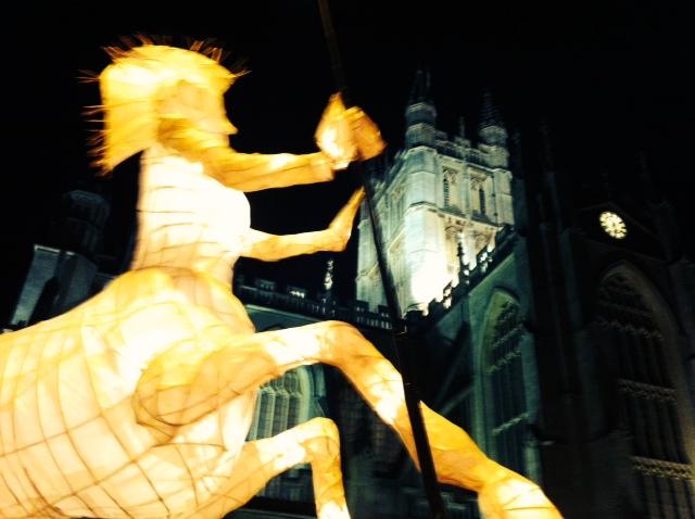 Lantern Procession set to switch on Bath's Christmaslights.