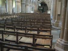 Seating at Wells Cathedral