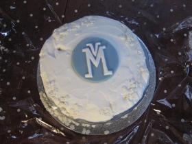 The Virtual Museum Christmas cake!