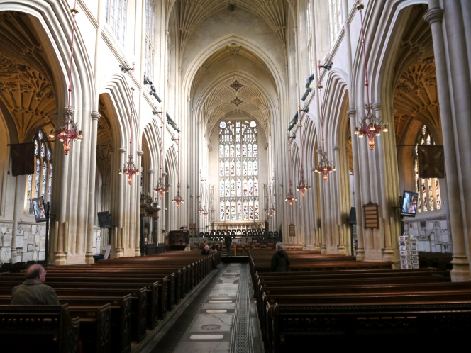Hallelujah! Bath Abbey wins HLF support