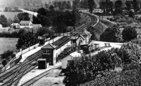 Saltford Station c1920 Courtesy Akeman Press