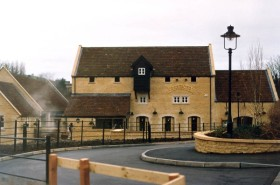 A photo of the Harvester from the website of www.bathpubs.co.uk
