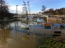 The new cycle/foot bridge at Batheaston