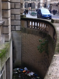 Bath's hidden 'litter bin'
