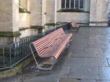 Benches at the Abbey