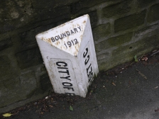 The old boundary marker