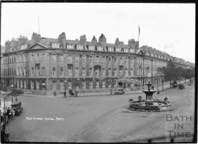 The Pulteney Hotel c 1935 ©Bath in Time