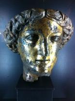 The head of the goddess Minerva