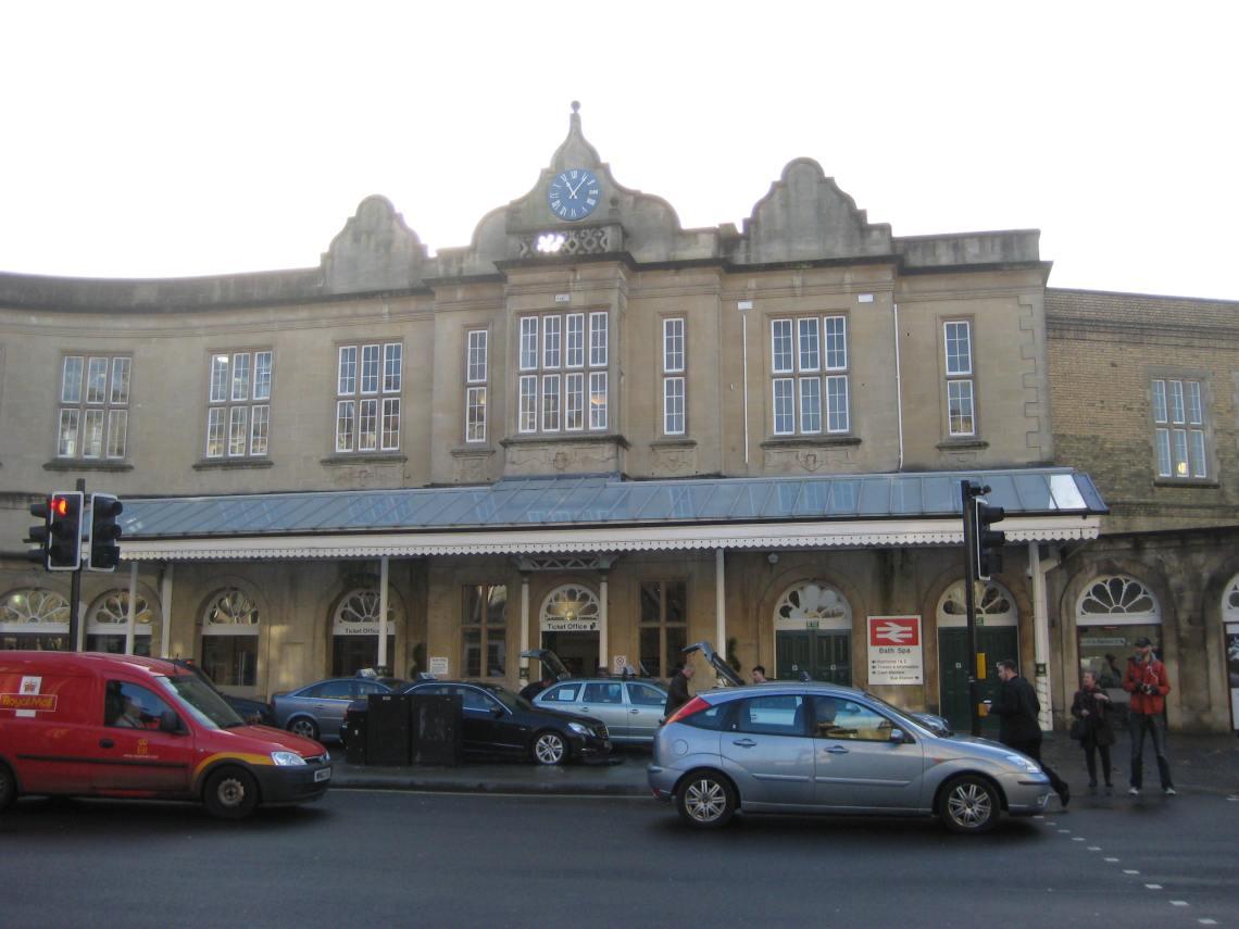 Bath Spa rail station