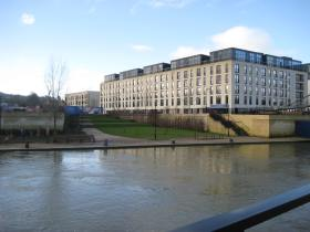 Some of the first new homes at Bath Riverside