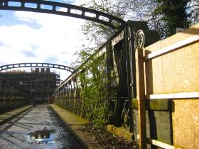 The old Destructor Bridge.