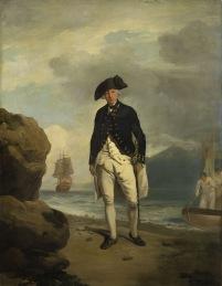Francis Wheatley's portrait of Arthur Phillip 1786.