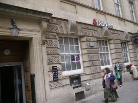 The High Street branch of Nat West.