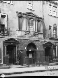 Entrance to St Margaret's Chapel in Brock Street.