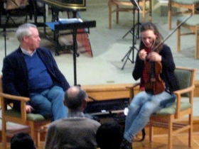 Conductor Jason Thornton in conversation with Tamsin Waley-Cohen