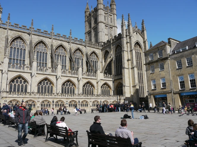 Big day for Bath Abbey's future.
