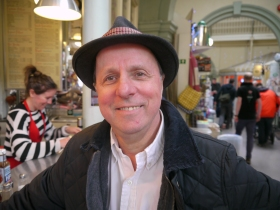 Mike Watts, Guildhall Market trader