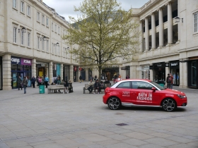Car promotion in Southgate Place