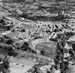 Bath from the air 1949. © English Heritage