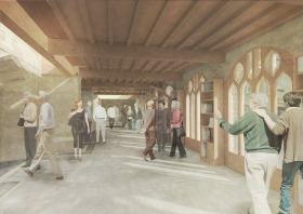 Bath Abbey - proposed Jackson extension
