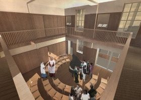 Bath Abbey's proposed Song School