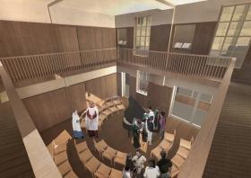 Bath Abbey's proposed Song School