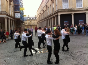 Dancing in Stall Street