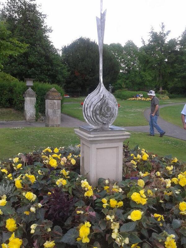 Parade Gardens unveiling