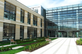 Commons - the new media centre building at Bath Spa University