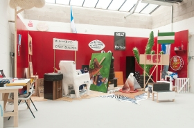Joe PERMAN TURNBULL installation Bath School fo Art and Design Degree Shows 2014