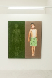 Painting by Aaron Illsley Bath School of Art And Design Degree Shows 2014