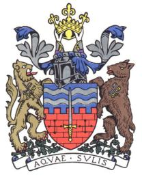 The official Coat of Arms for the City of Bath
