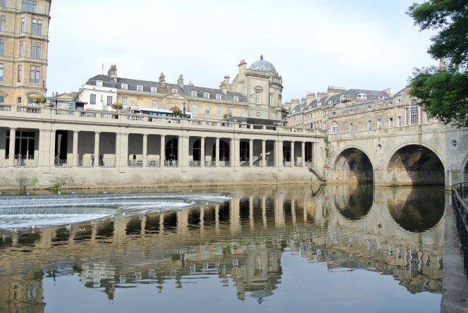 Pulteney Weir from a different angle.