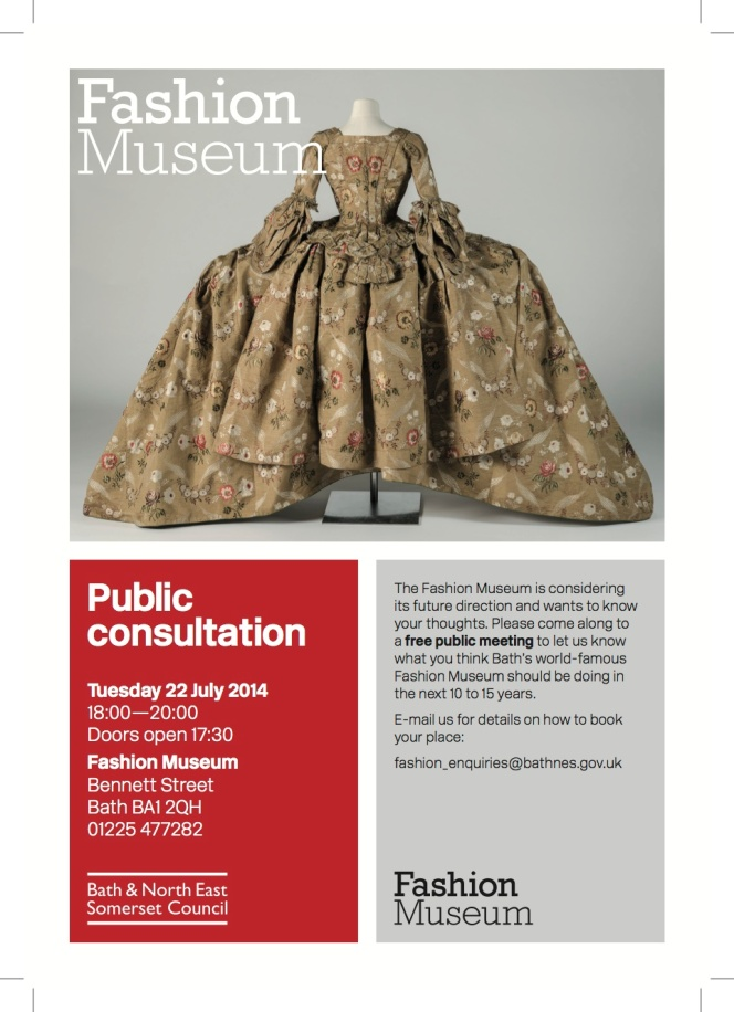 Bath's Fashion Museum break out?