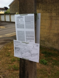Notices about adopting footpaths - but it's a hell of a read!