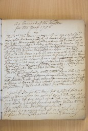 The 18th century weather diary Photo:  Freia Turland