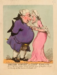 Doctor Convex and Lady Concave, 20 November 1802 Thomas Rowlandson (1757-1827) Royal Collection Trust/© Her Majesty Queen Elizabeth II 2014
