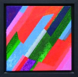 John Eaves, Split Decision, oil on canvas, 2011