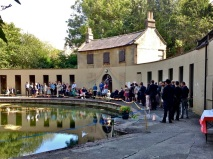 Tying the knot at Bath's ClevelandPools.