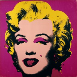 Andy Warhol, Untitled from Marilyn Monroe (Marilyn), screen-print on paper, 1967. © The Andy Warhol Foundation for the Visual Arts / Artists Rights Society (ARS), New York / Victoria and Albert Museum, London and DACS, 2014