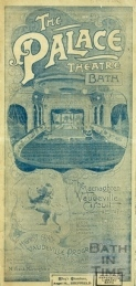 Palace Theatre Programme from 1906. © Bath in Time