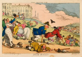 Bath Races.  All Images: Thomas Rowlandson (1757-1827) Royal Collection Trust/© Her Majesty Queen Elizabeth II 2014